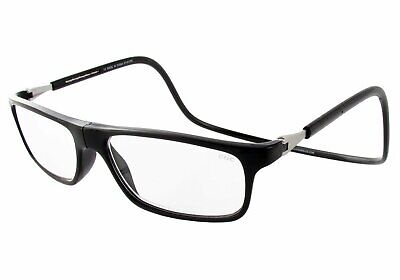 Black Executive Snap (CliC TALL LENS MAGNETIC Snap Reading Glasses BLACK EXECUTIVE | 1.25 to)