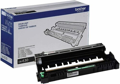 Brother DR630 Genuine Drum Unit Mono Laser Black Yields Up To 12,000 Pages