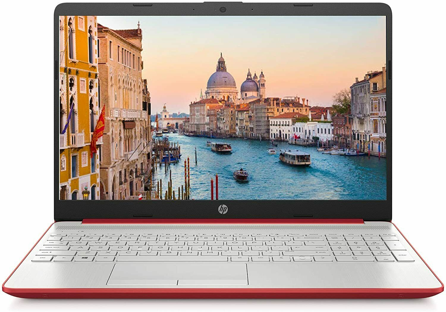 "Laptop Windows - NEW HP 15.6"" Laptop HD Intel-2.4GHz,4GB DDR4 RAM,500GB HDD,Webcam,Windows 10,Red"