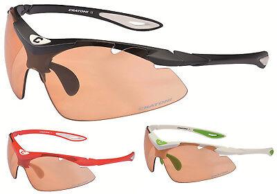Cratoni Radbrille High-Fly Skibrille Photochromic Fahrradbrille Sonnenbrille