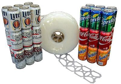 New 1000 Count Roll 6-pack Rings Universal Fit - Fits All 12oz Beer  Soda Cans