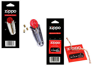 Zippo Lighter Zippo Flint Dispenser 100mm Zippo Wick Essentials Pack