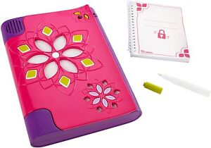 Girls Pink Girl Tech Voice Activated Password Journal 9 Secret Private Diary
