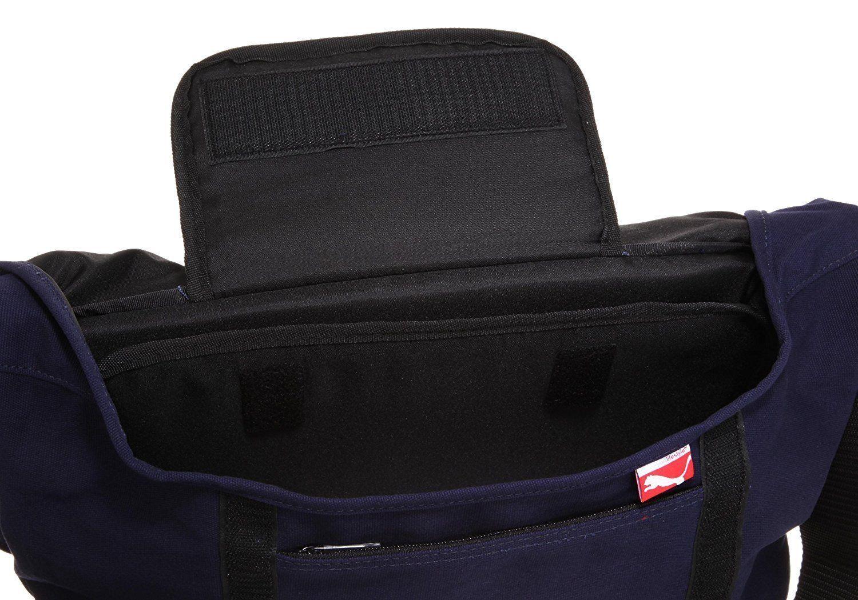 PUMA Buddy Reggae Messenger Bag Jamaica Navy Unisex Shoulder Bags  68c42cd175ff8