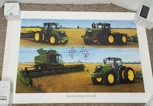 "2011 JOHN DEERE ""ACCELERATING GROWTH"" PRINT 481/7000 BY KERMIT SOLHEIM"