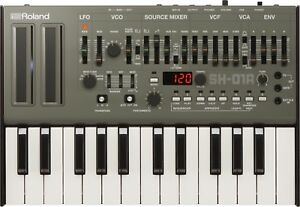 ROLAND SH-01a + KEYBOARD k-25. Boutique analog synth sh-101