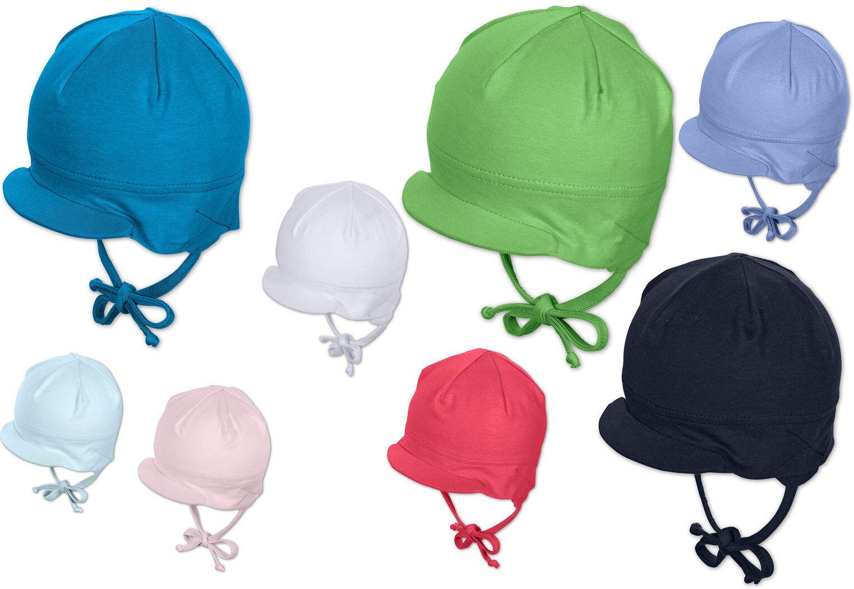 SOMMER Baby Jungen Mädchen Schirmmütze Mütze Pure Colour STERNTALER 1501410 -K47