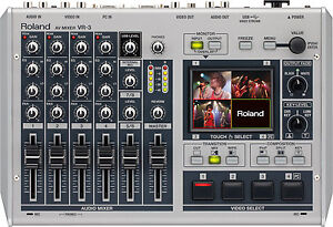 Edirol/Roland VR-3 Portable Audio & Video Mixer with USB Port