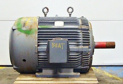 Sls1b12 Westinghouse Electric Motor 75hp 1780rpm  14578lr