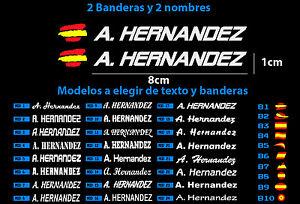 2-UNIDADES-PEGATINAS-BANDERA-DE-ESPANA-Y-NOMBRE-PERSONALIZADO-24-MODELOS