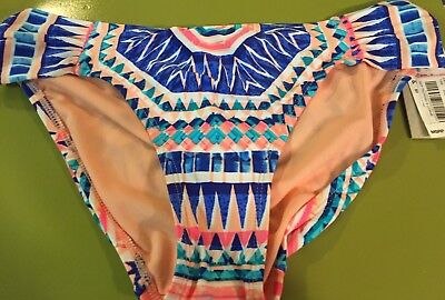 Reaction Kenneth Cole Swim Suit Bikini Bottoms NWT $58 Size Womens Small