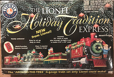 Lionel Holiday Tradition Express Train Set #11000 Preowned Mint Condition Tested