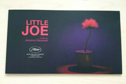 LITTLE JOE Cannes 2019 OFFICIAL PRESSBOOK Emily Beecham Ben Whishaw Black Mirror