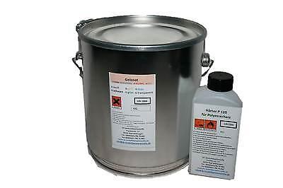 2kg Gelcoat weiss ORTHO+40ml Härter für Formenbau Polyesterharz Epoxidharz GFK