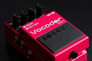 Boss VO-1 Vocoder Guitar Effects Pedal For Sale