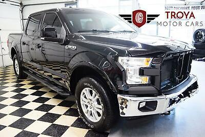 2017 Ford F-150 Lariat 4x4 V8 Repairable Salvage Truck Rebuildable Damaged