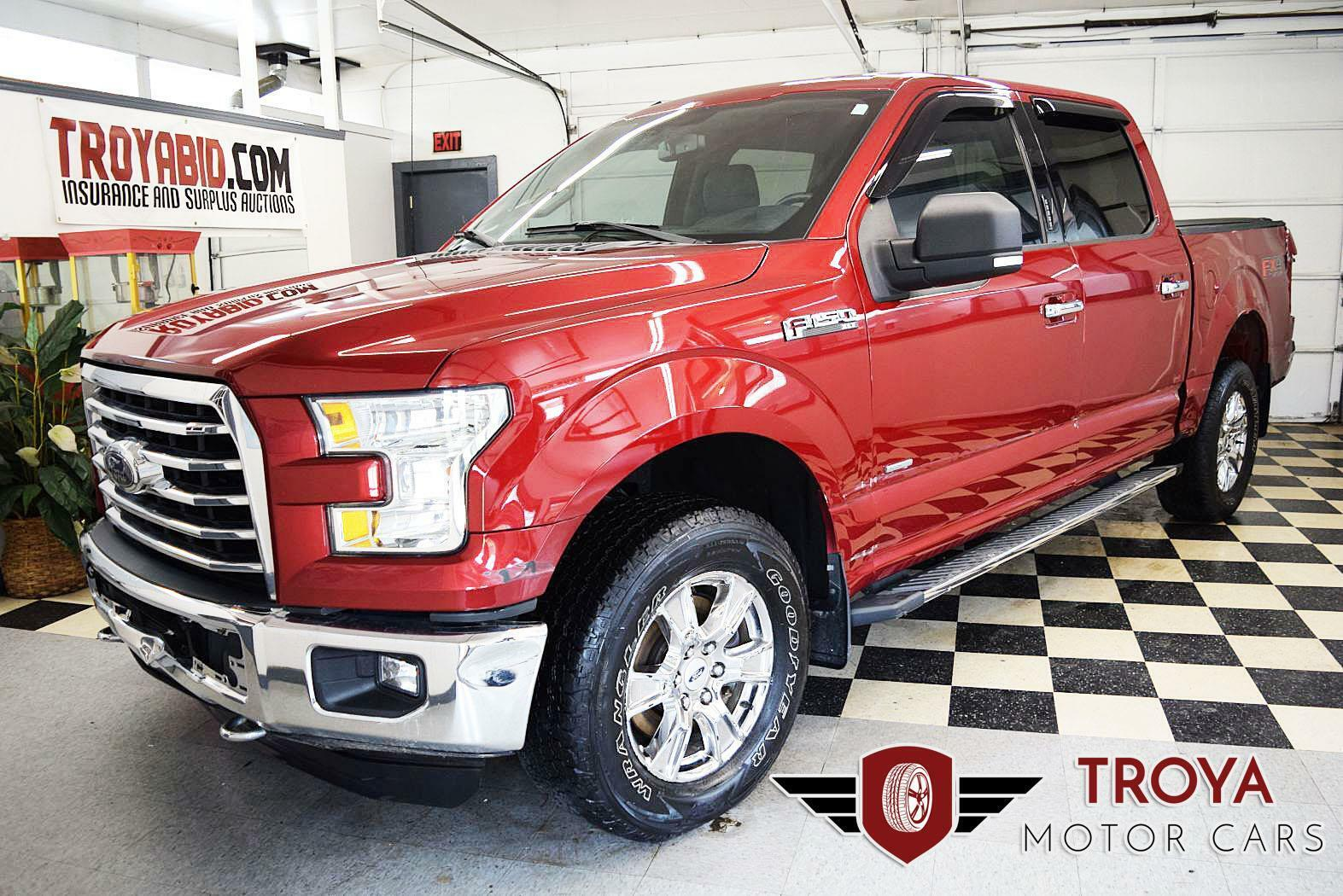 2015 Ford F-150 XLT 4x4 Crew Repairable Salvage Truck Rebuildable Damaged