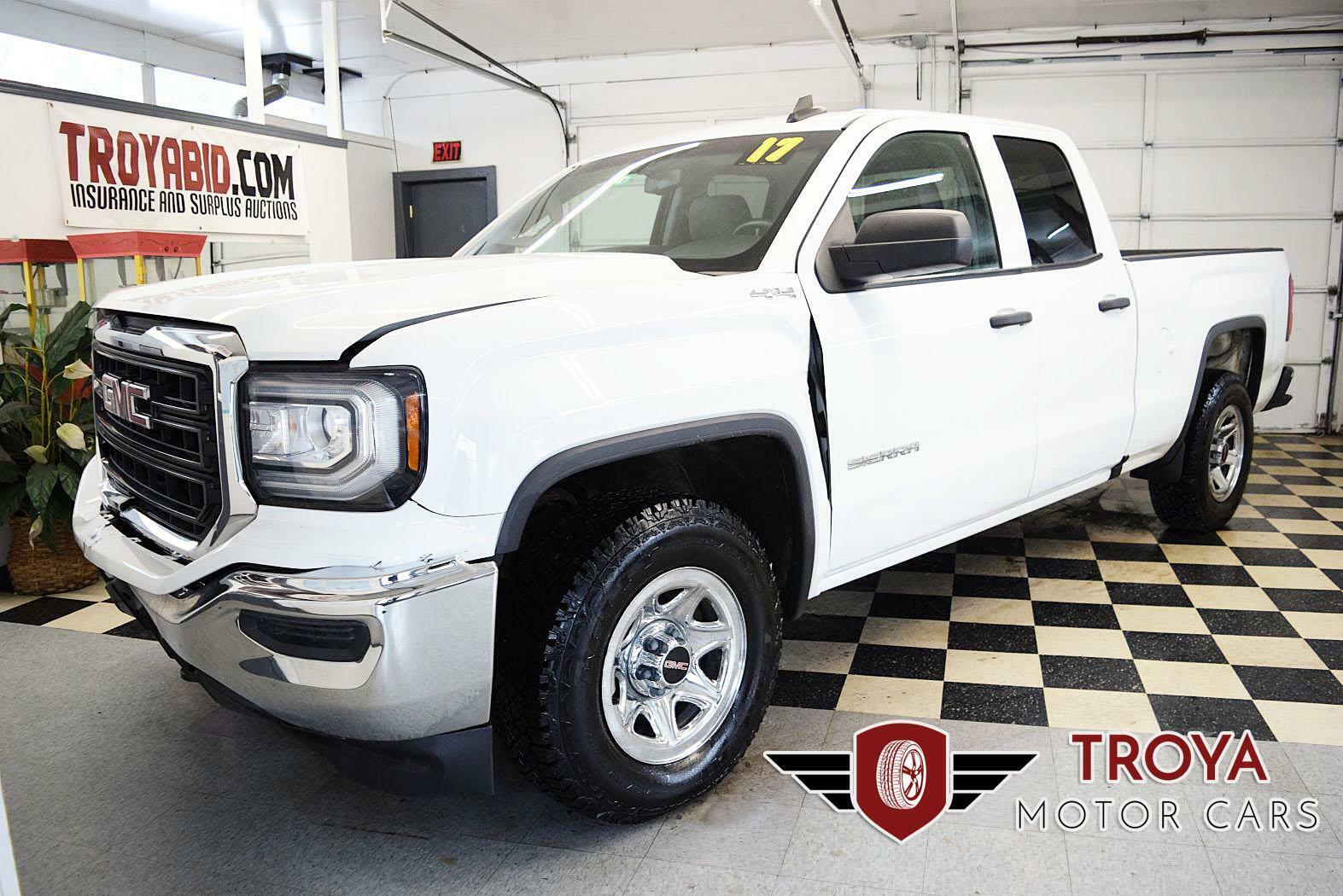 2017 GMC Sierra 1500 V8 4x4 Repairable Salvage Truck Rebuildable Damaged