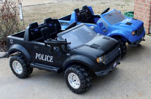 New Power Wheels Police DECAL Set