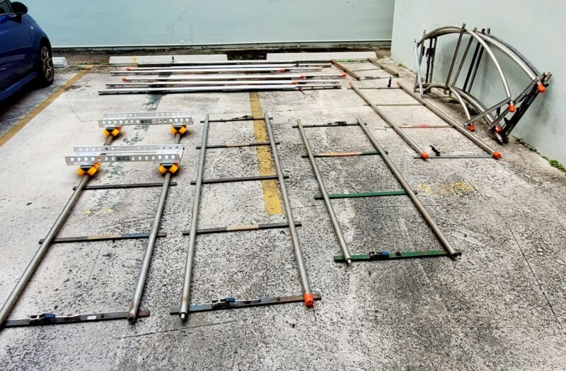 Matthews Heavy Wall Track and Matthews Centipede Dolly System