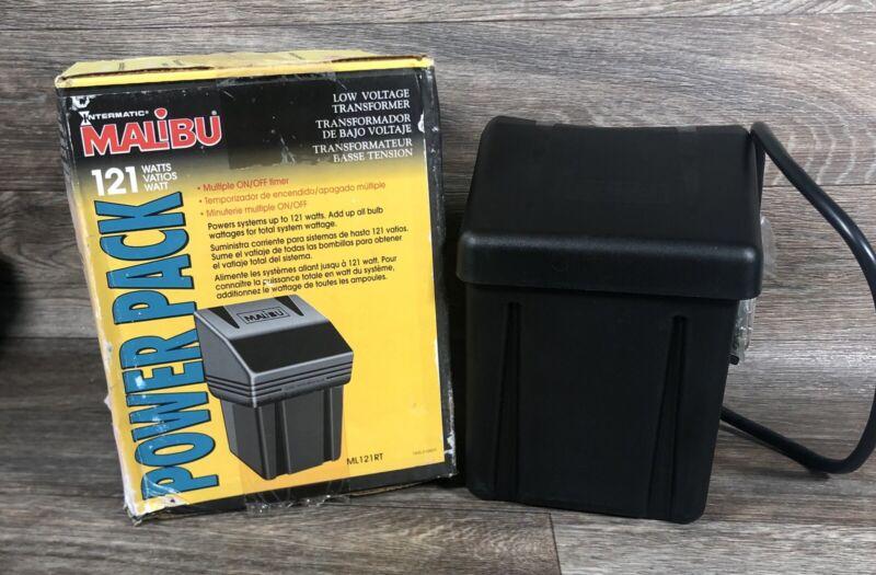 Intermatic Malibu ML121RT Low Voltage Lighting Transformer 121 Watt New Open Box