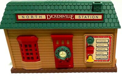Dickensville Collectables Musical Train Set No. 171L STATION 1992 New Bright