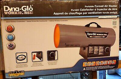 Dyna-glo Workhorse Lpfa125wh 70k - 125k Btu Lp Forced Air Heater