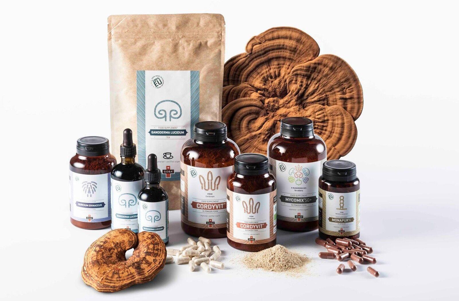ORGANIC Medicinal Mushrooms