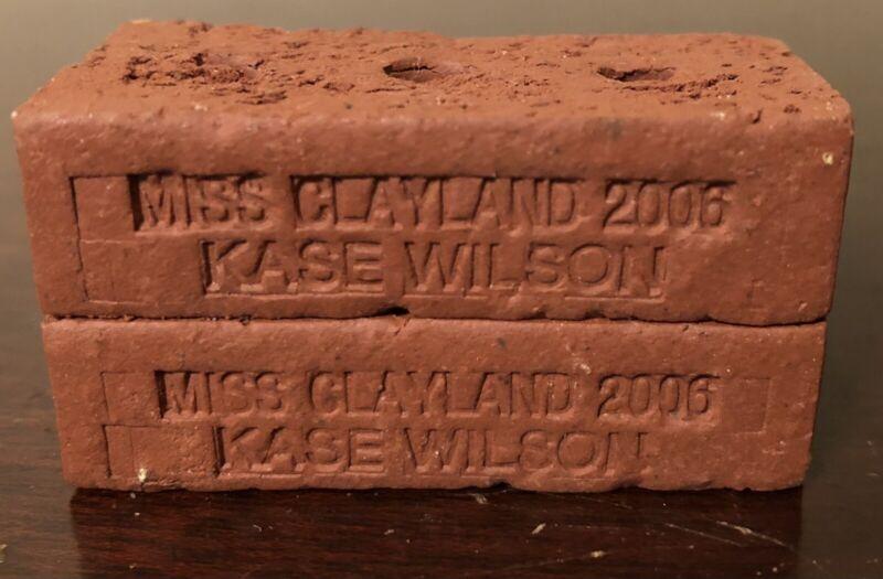 Miss Clayland 2006 Kase Wilson Miniature Bricks - Uhrichsville, Ohio (OH)