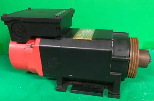 GE Fanuc A06B-0840-B200 AC Spindle Motor #3000, 3 Phase, 4 Pole Model aC1
