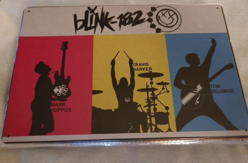*NEW DESIGN* BLINK 182 Rock Band...... Poster Style Wall Sign