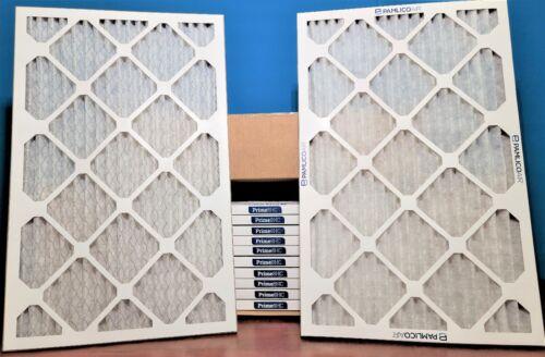 12 Pack 16x25x1 MERV 8 High Capacity Pleated AC Furnace Air Filter HVAC