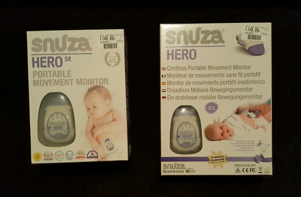X2 Hero Snuza baby monitors.