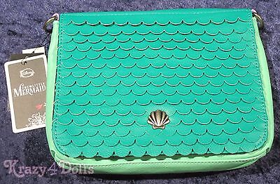 Disney The Little Mermaid Ariel Crossbody Handbag/ Pocketbook NEW With Tags!