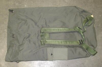 US Military Issue OD Green Nylon Duffel Bag Sea Garrison Duffle Equipment PCS