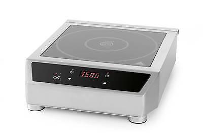 Hendi Gastro Digital Induktionskocher Induktion Kochplatte Kochfeld 3500 Watt