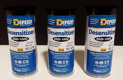 Desensitizer Defend 3x 10ml Bottles