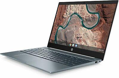 "HP Chromebook 15-de0000na 15.6"" Full HD Intel Pentium 4GB RAM 64GB eMMC Laptop"