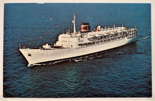 ss New Bahama Star. Eastern Steamship Lines. Luxury Ocean Liner Cruise Ship Boat