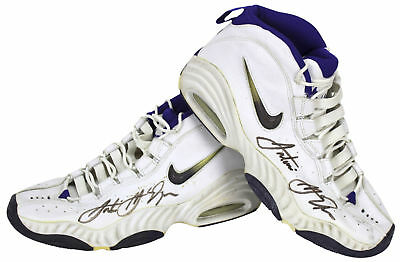 Spurs Antonio McDyess Authentic Signed Game Worn Nike Size 13.5 Shoes PSA  DNA 198d959e8