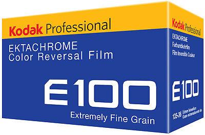 1 Roll Kodak Ektachrome E100 Color Reversal Film 36 exp. NEW FRESH