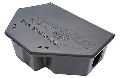 (Protecta LP Tamper Resistant Rodent Rat Mouse Bait Station Rodent Bait Box Black)