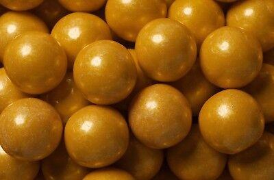 Gold Gumballs 2lbs Bulk - Gold Gumballs