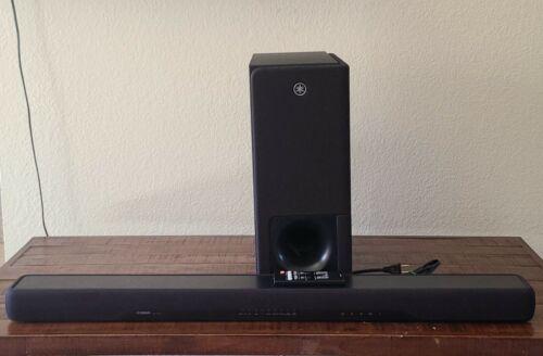 Yamaha YAS-207BL Sound Bar with Wireless Subwoofer Bluetooth