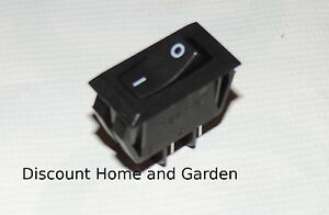 Millivolt Rocker Switch Gas Fireplace Stove And Log On Off