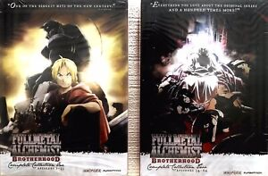 Fullmetal Alchemist: Brotherhood - The Complete Collection 1+2 (10-DVD,2 Sets)