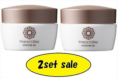 2SET RAFFINE PERFECT ONE Moisture Gel All In One Face Moisturizer 75g F/S  Japan
