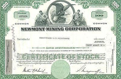 Newmont Mining Corporation 1971