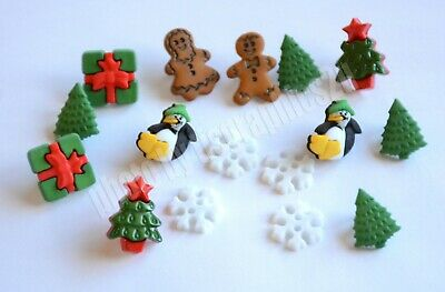 Christmas Minis / Small Trees ~ Penguins ~ Snowflakes ~ Gingerbread ~ Packages ()