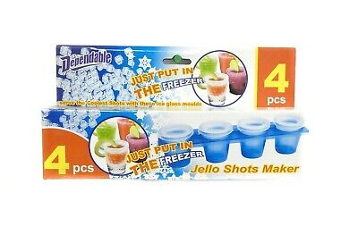 Party Time Jello Shot Maker Coolest Shots Alcohol Tequila Vodka Flavors Ice Cube](Flavored Ice Cubes)